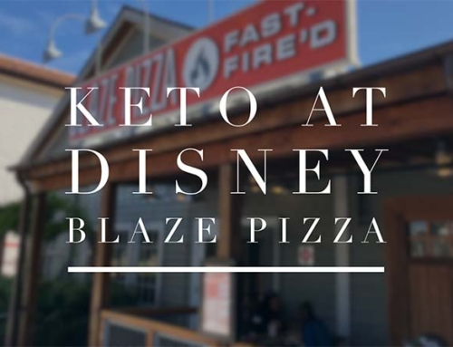 Keto At Disney World – Blaze Pizza