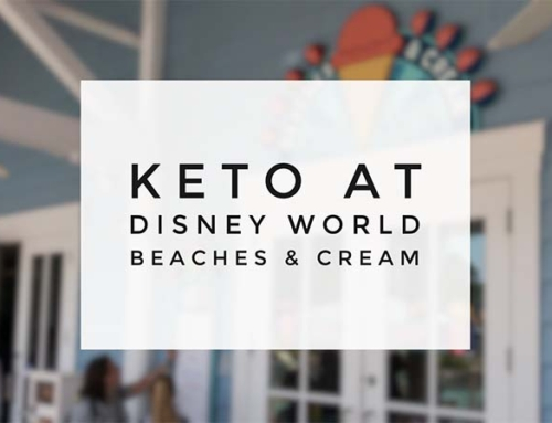 Keto At Disney – Beaches & Cream